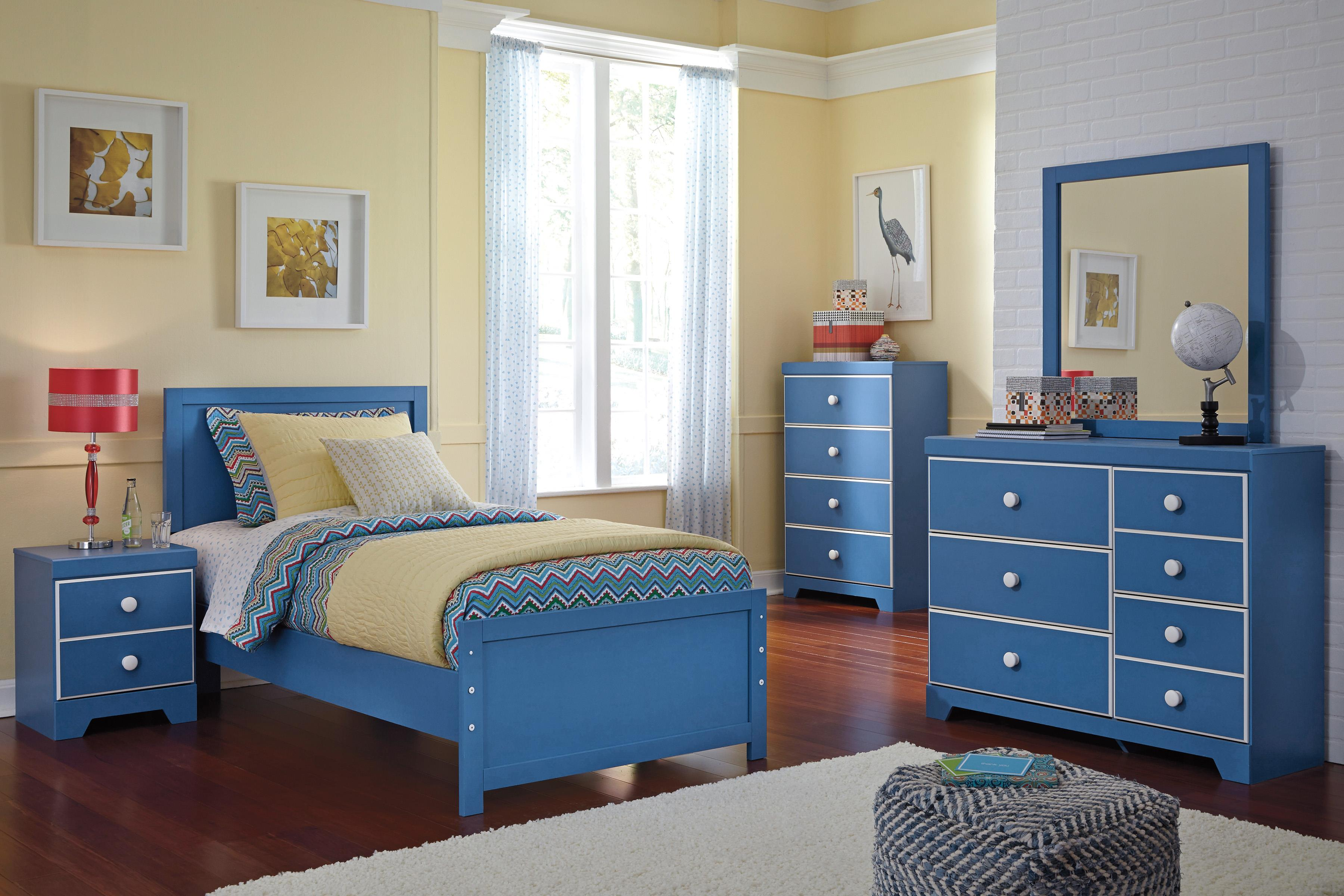 Signature Design by Ashley Bronilly Twin Bedroom Group - Item Number: B045 T Bedroom Group 1