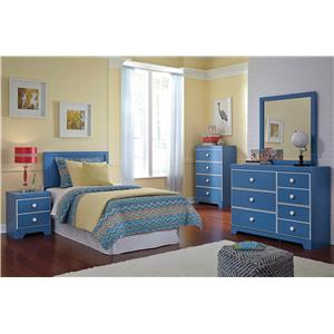 Ashley Signature Design Bronilly Twin Bedroom Group
