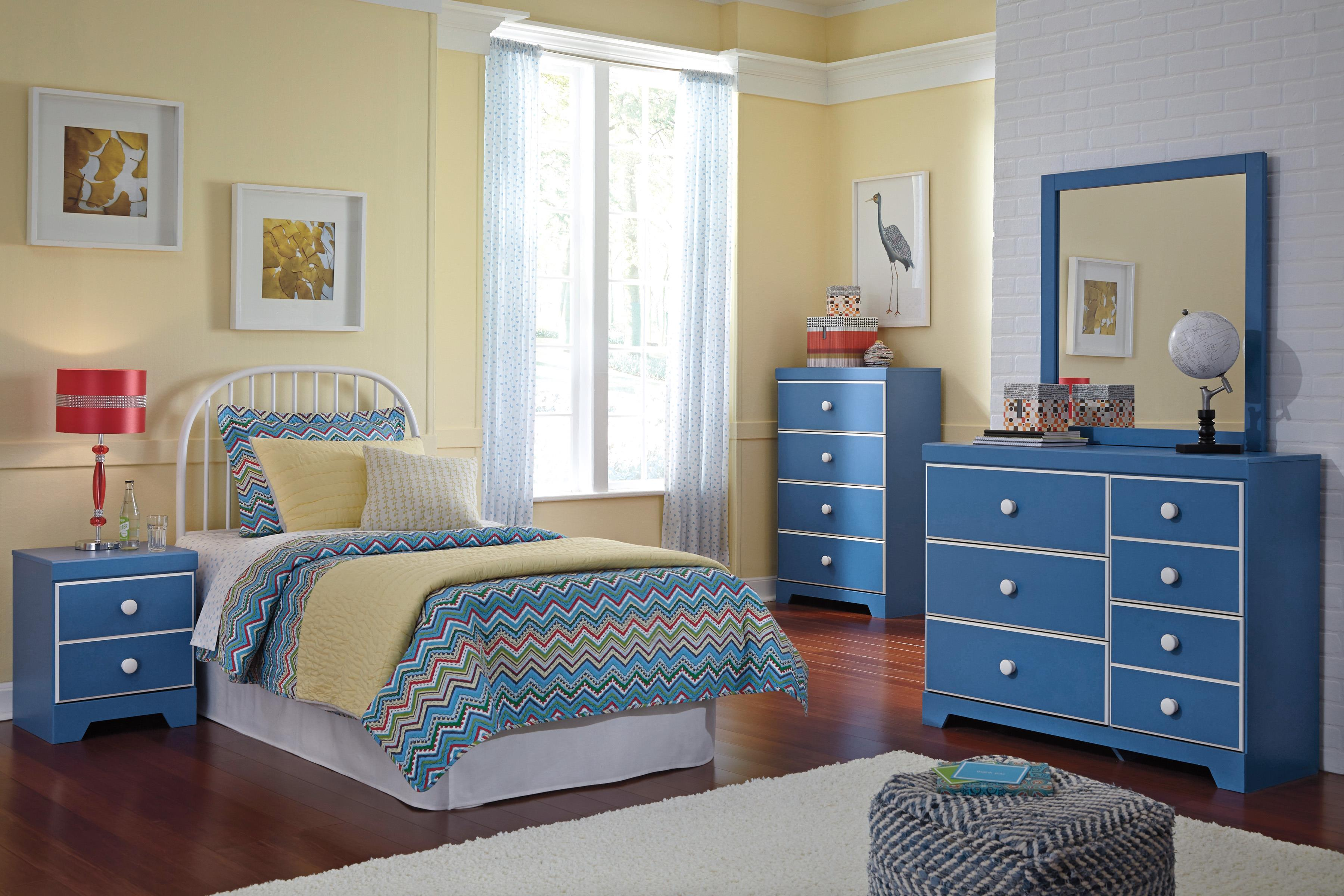 Signature Design by Ashley Bronilly Twin Bedroom Group - Item Number: B045 T Bedroom Group 4