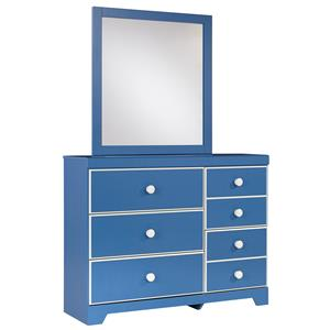 Signature Design by Ashley Bronilly Dresser & Bedroom Mirror