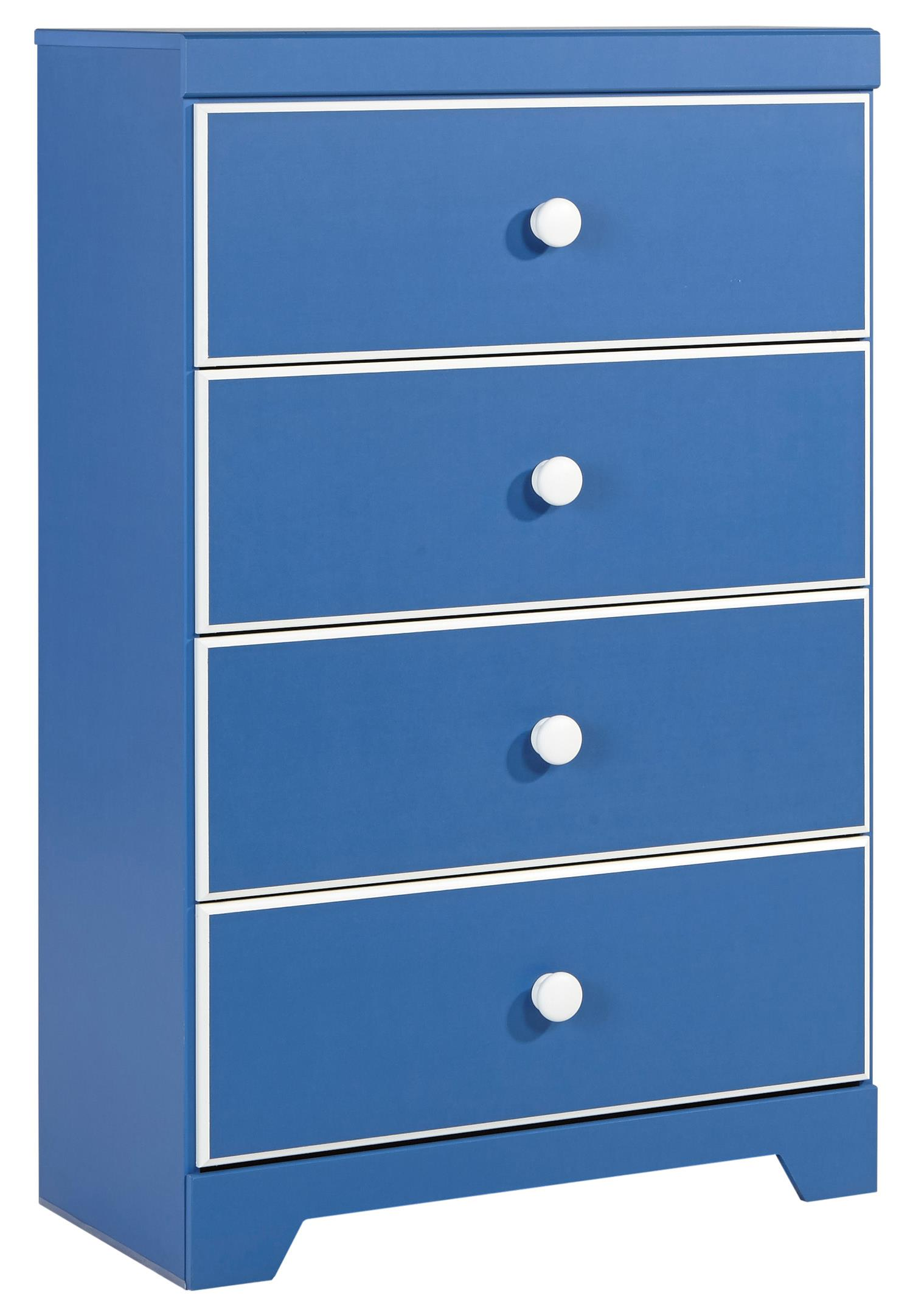 Signature Design by Ashley Bronilly Four Drawer Chest - Item Number: B045-44