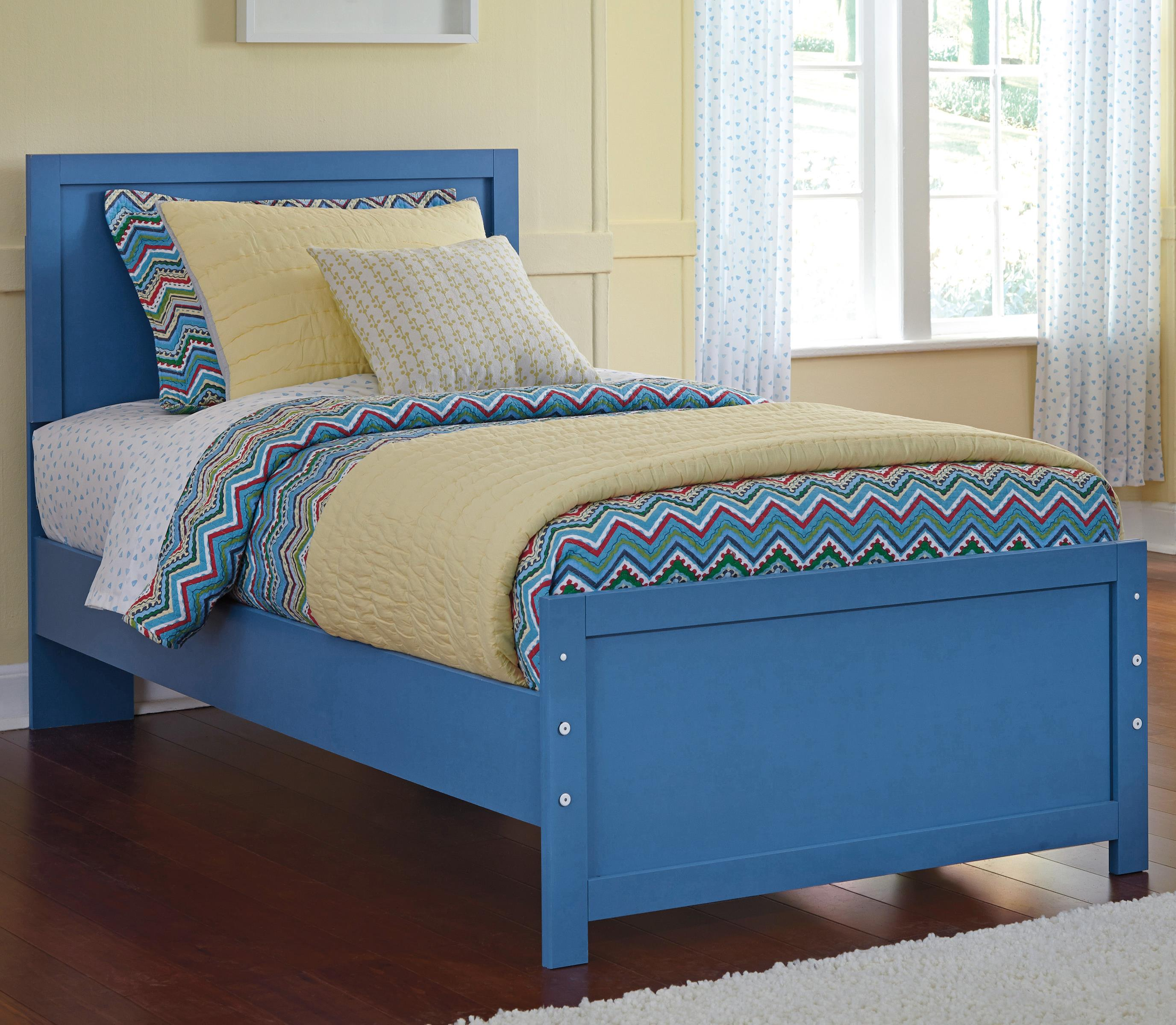 Signature Design by Ashley Bronilly Twin Panel Bed - Item Number: B045-53+52+82