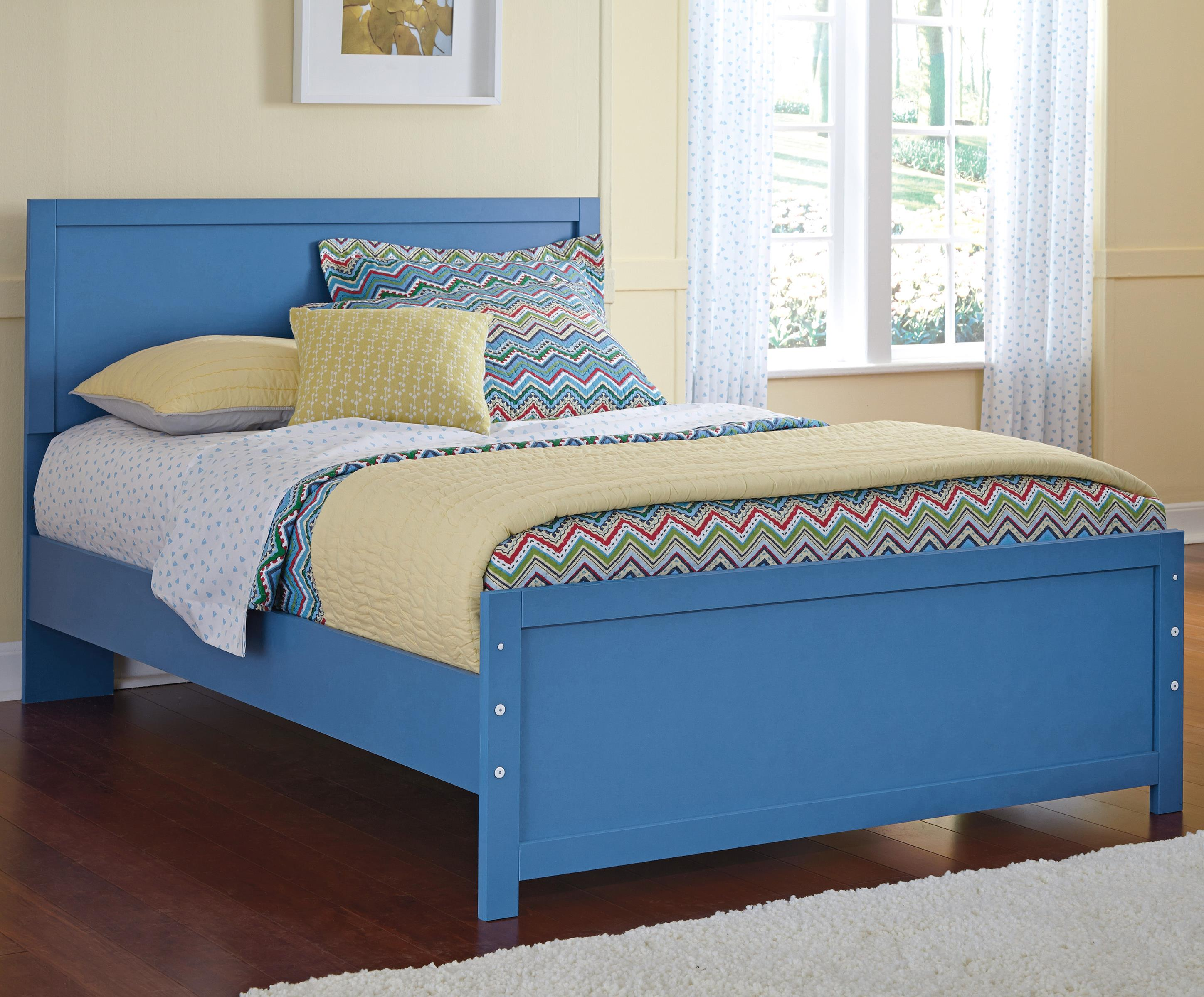 Signature Design by Ashley Bronilly Full Panel Bed - Item Number: B045-87+84+86