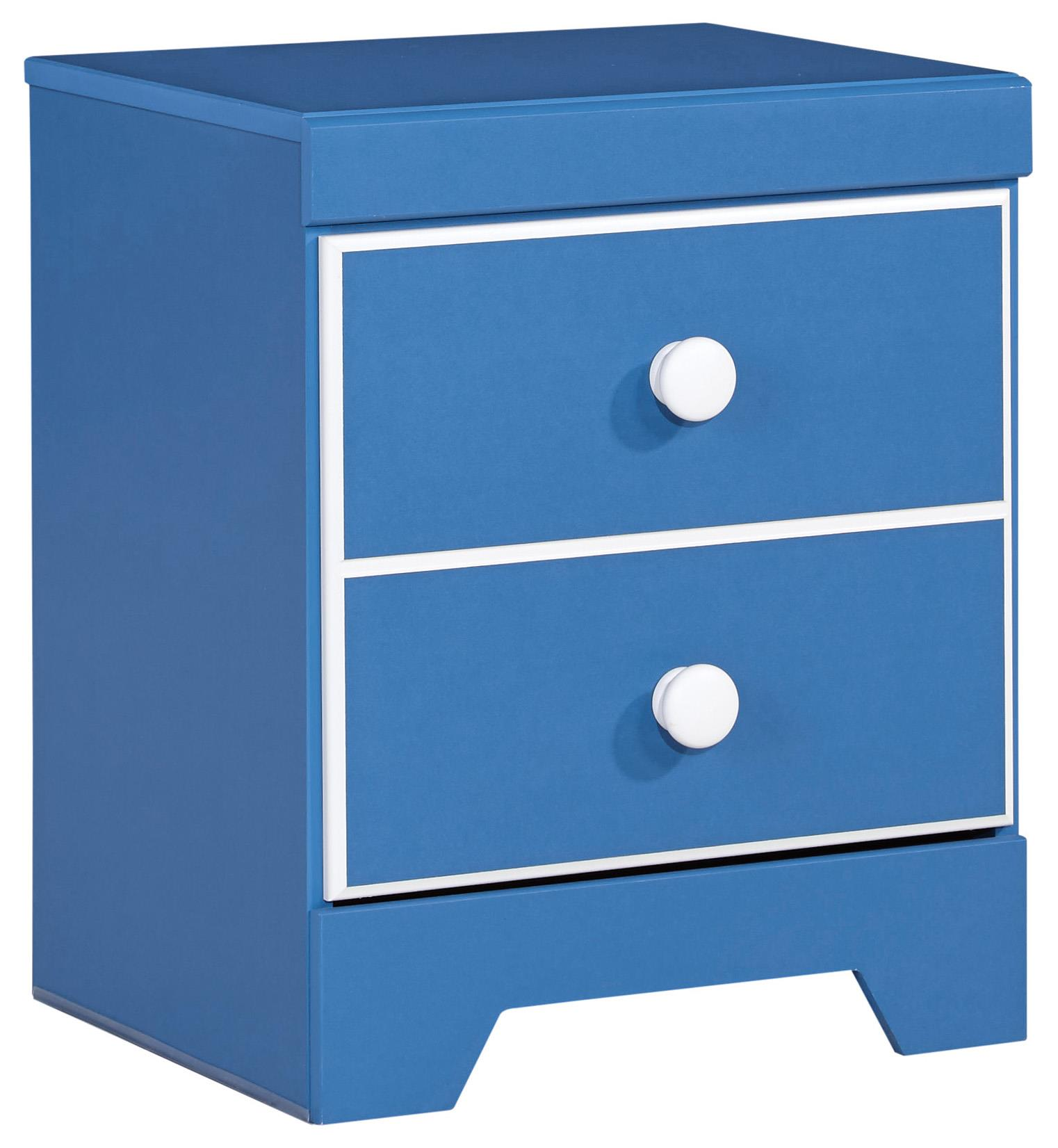 Signature Design by Ashley Bronilly One Drawer Night Stand - Item Number: B045-91