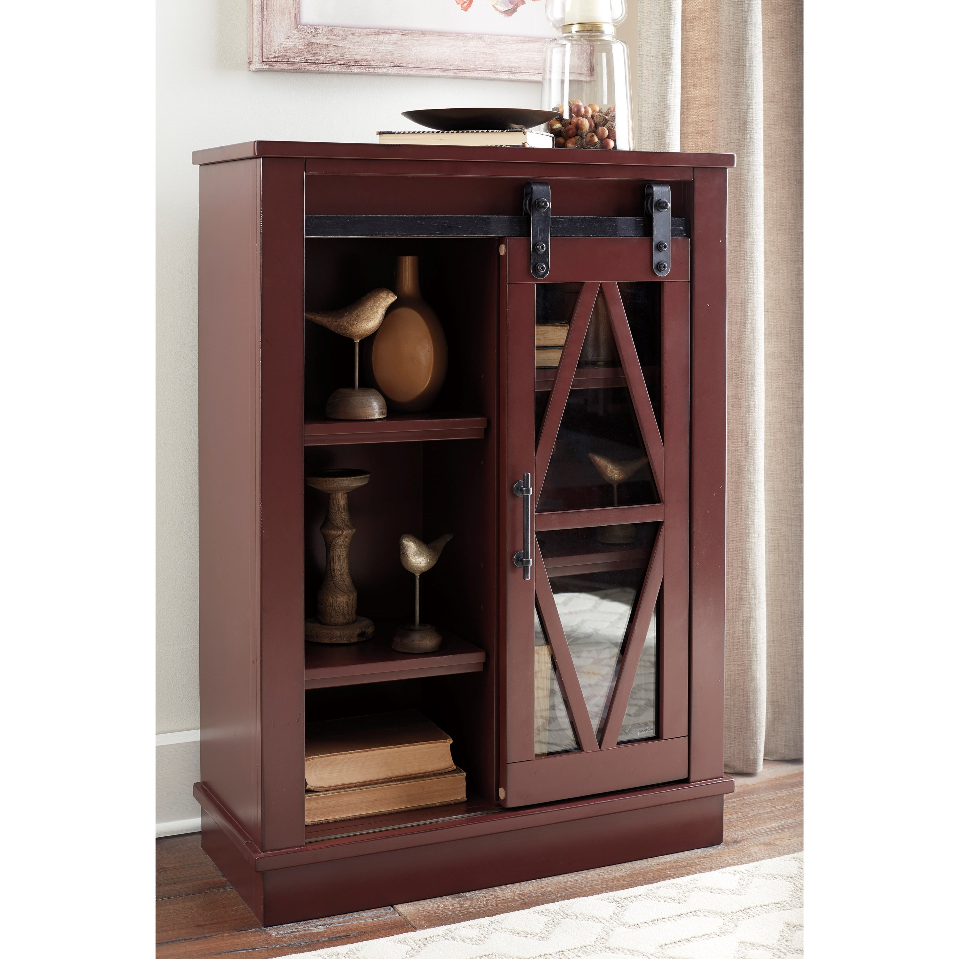 Walentin Accent Cabinet By Ashley Furniture: Ashley Signature Design Bronfield Accent Cabinet With