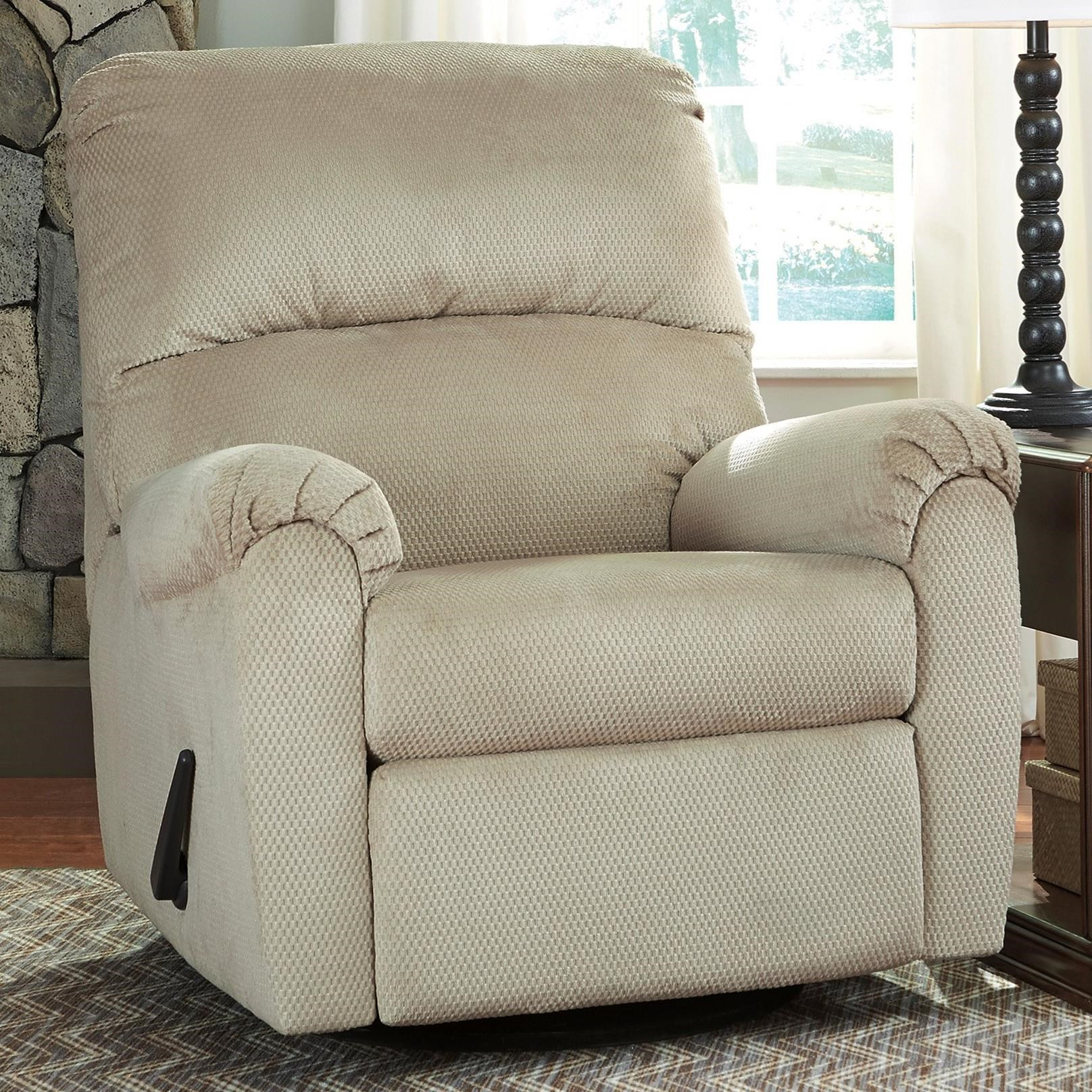 Signature Design by Ashley Bronwyn Swivel Glider Recliner - Item Number 2600361 & Signature Design by Ashley Bronwyn Swivel Glider Recliner with 360 ... islam-shia.org