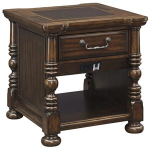 Signature Design by Ashley Brosana Rectangular End Table