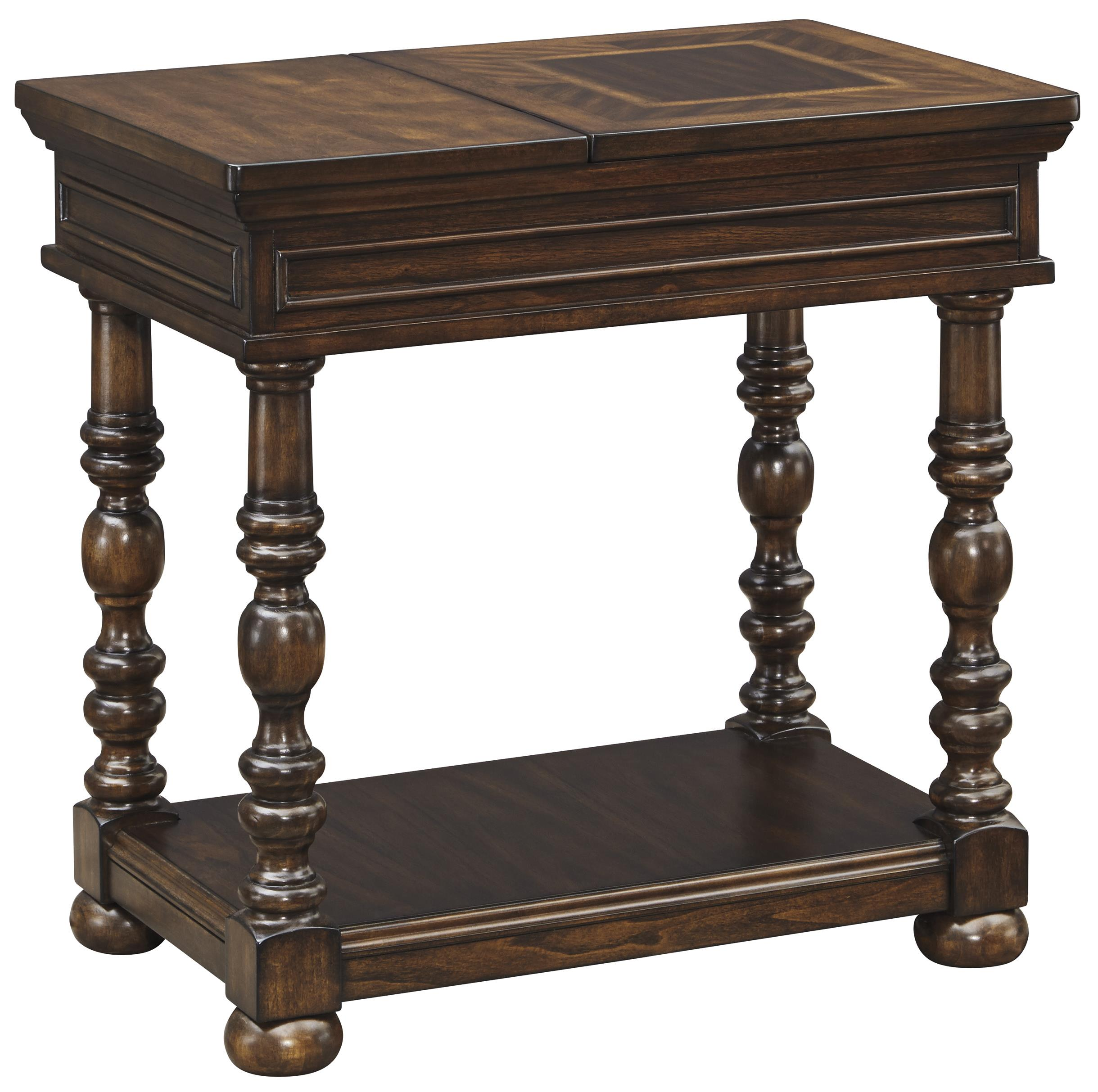 Signature Design by Ashley Brosana Chair Side End Table - Item Number: T638-7