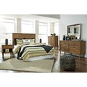 Signature Design by Ashley Broshtan Queen Bedroom Group - Item Number: B518 Q Bedroom Group 2