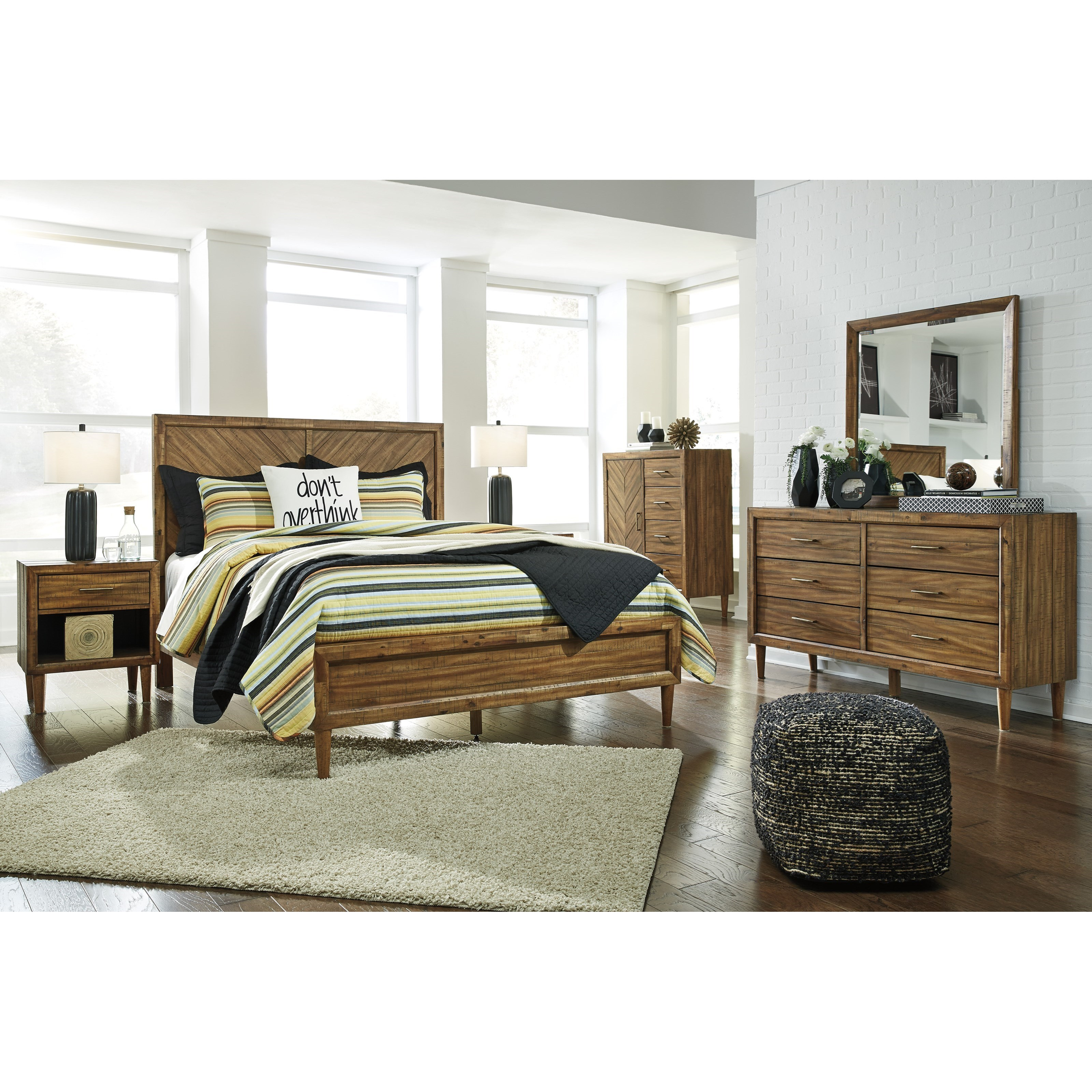 Signature Design By Ashley Broshtan Queen Bedroom Group
