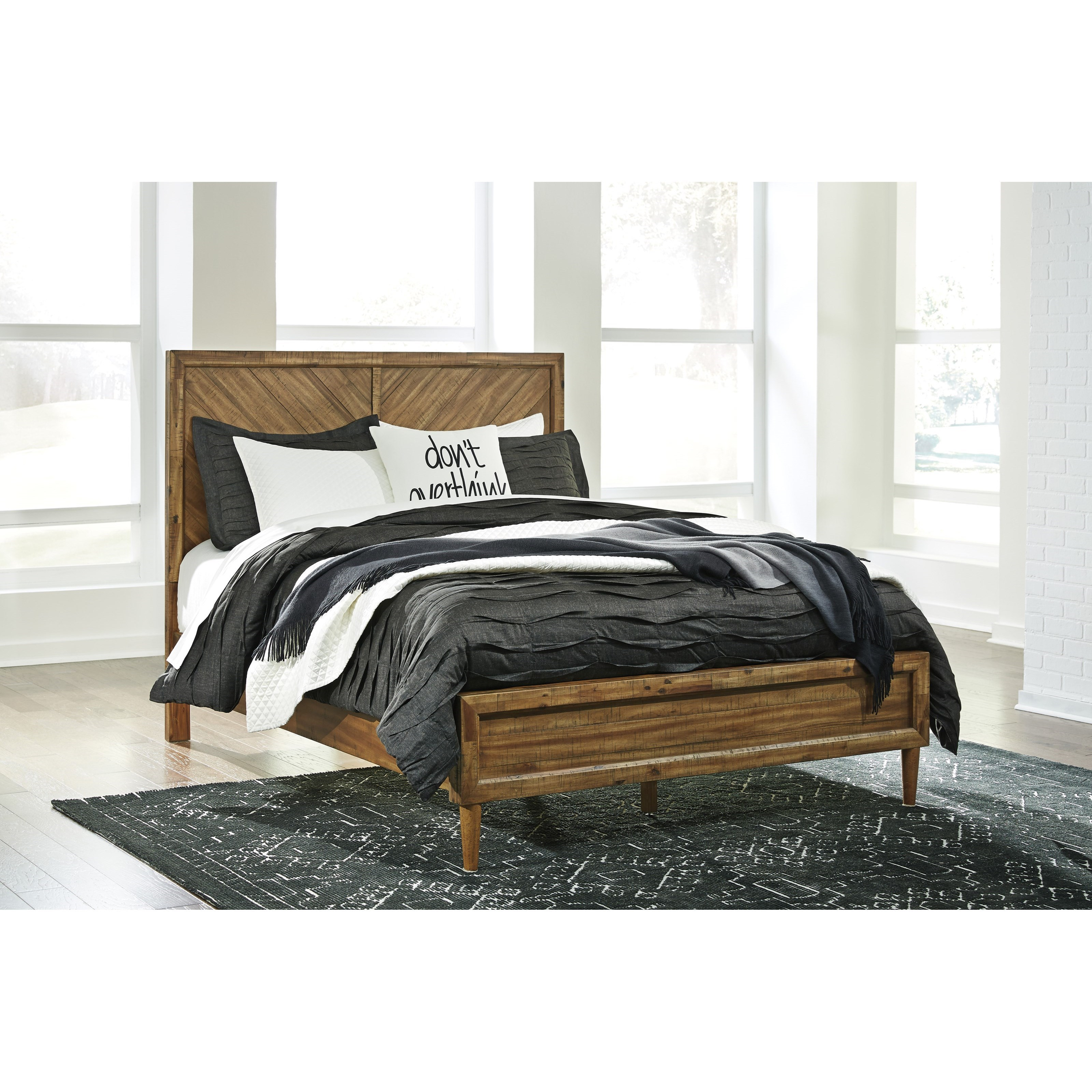 Signature Design by Ashley Broshtan California King Panel Bed - Item Number: B518-58+94+56