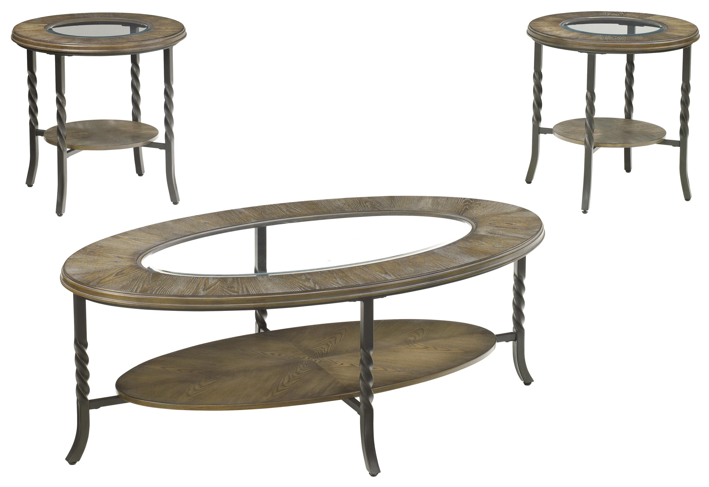 Signature Design by Ashley Brudelli 3-Piece Occasional Table Set - Item Number: T474-13