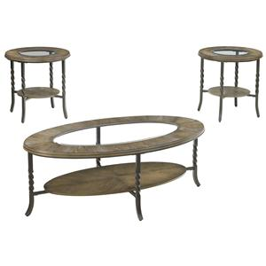 Signature Design by Ashley Brudelli 3-Piece Occasional Table Set