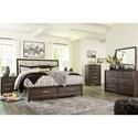 Signature Design by Ashley Brueban King Bedroom Group - Item Number: B497 K Bedroom Group