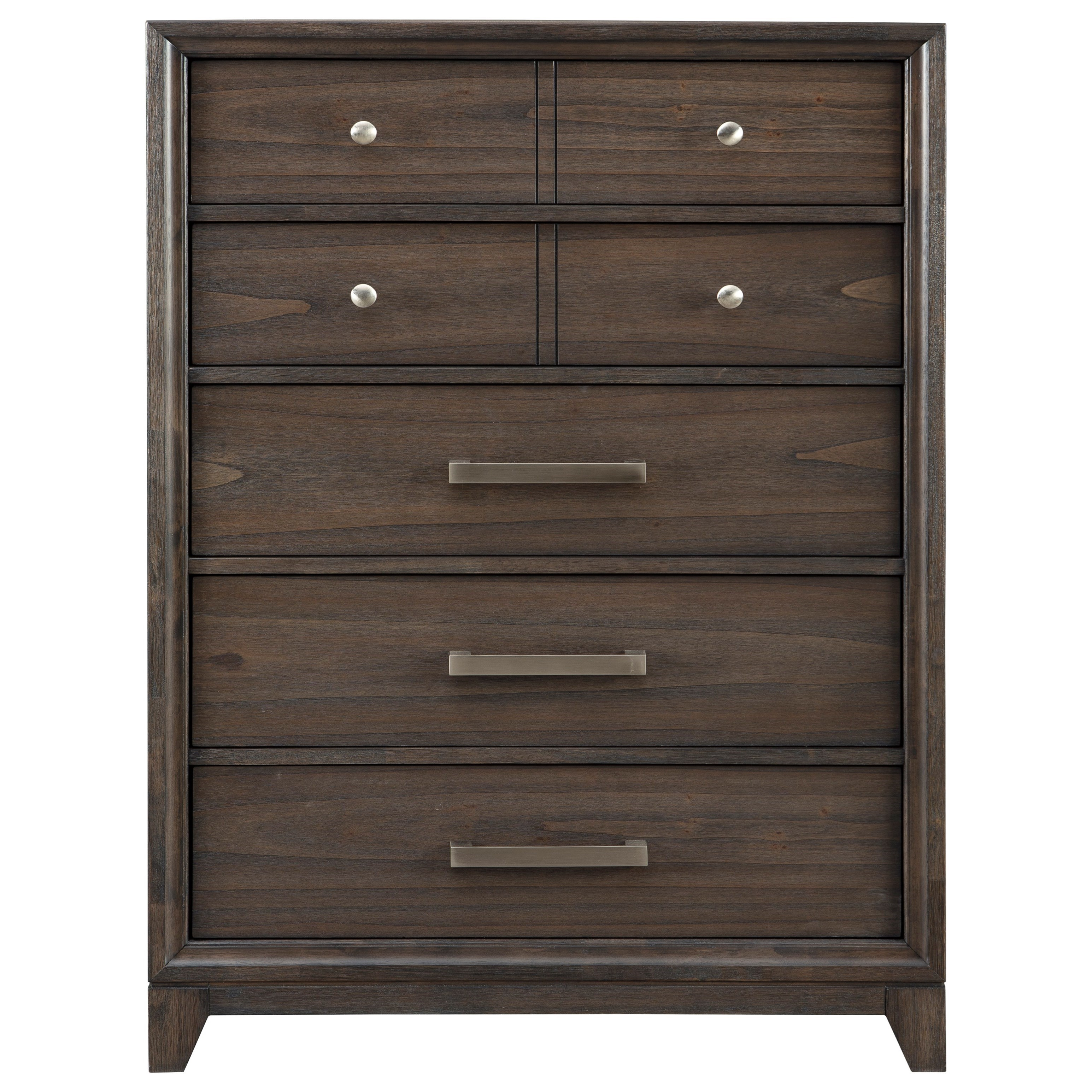 Brueban 5 Drawer Chest by Signature Design by Ashley at HomeWorld Furniture