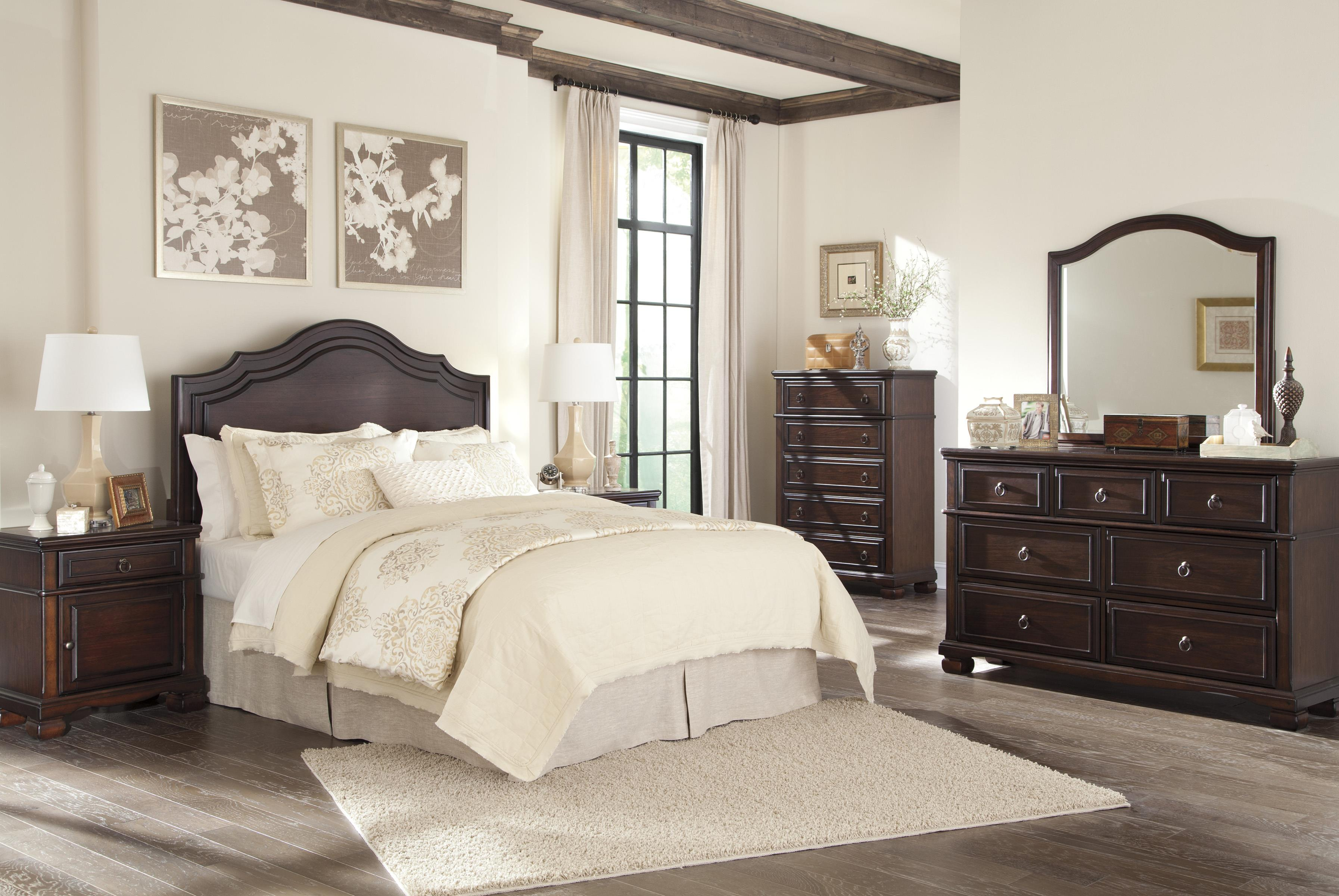 Signature Design by Ashley Brulind Queen Bedroom Group - Item Number: B554 Q Bedroom Group 1