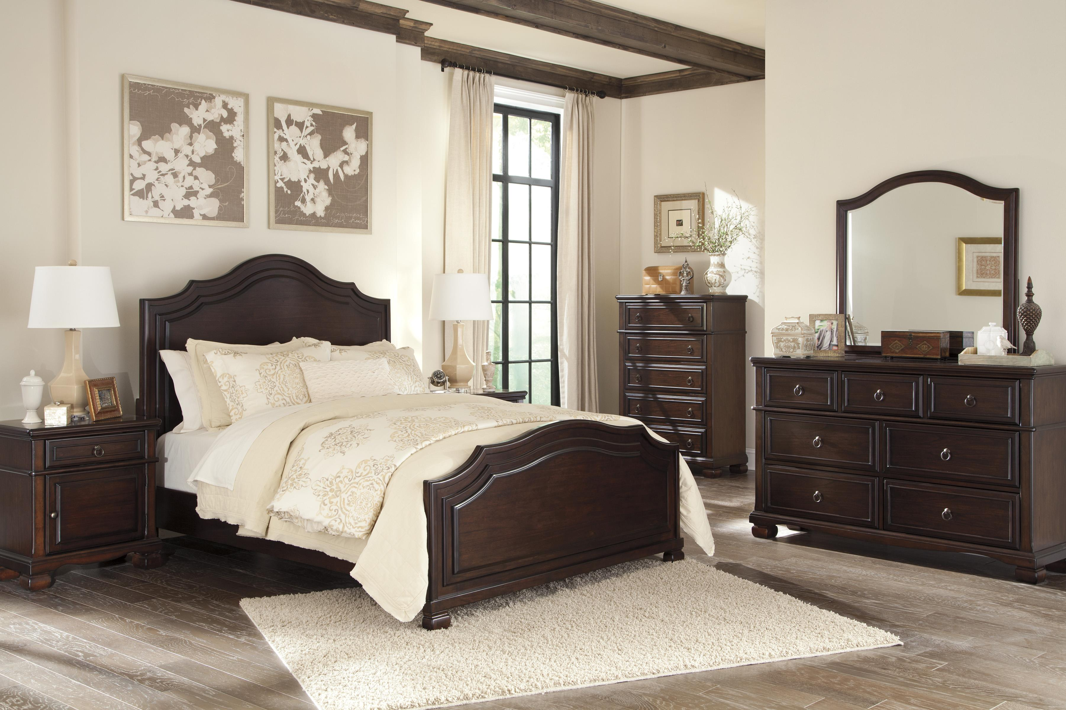 Signature Design by Ashley Brulind Queen Bedroom Group - Item Number: B554 Q Bedroom Group 2
