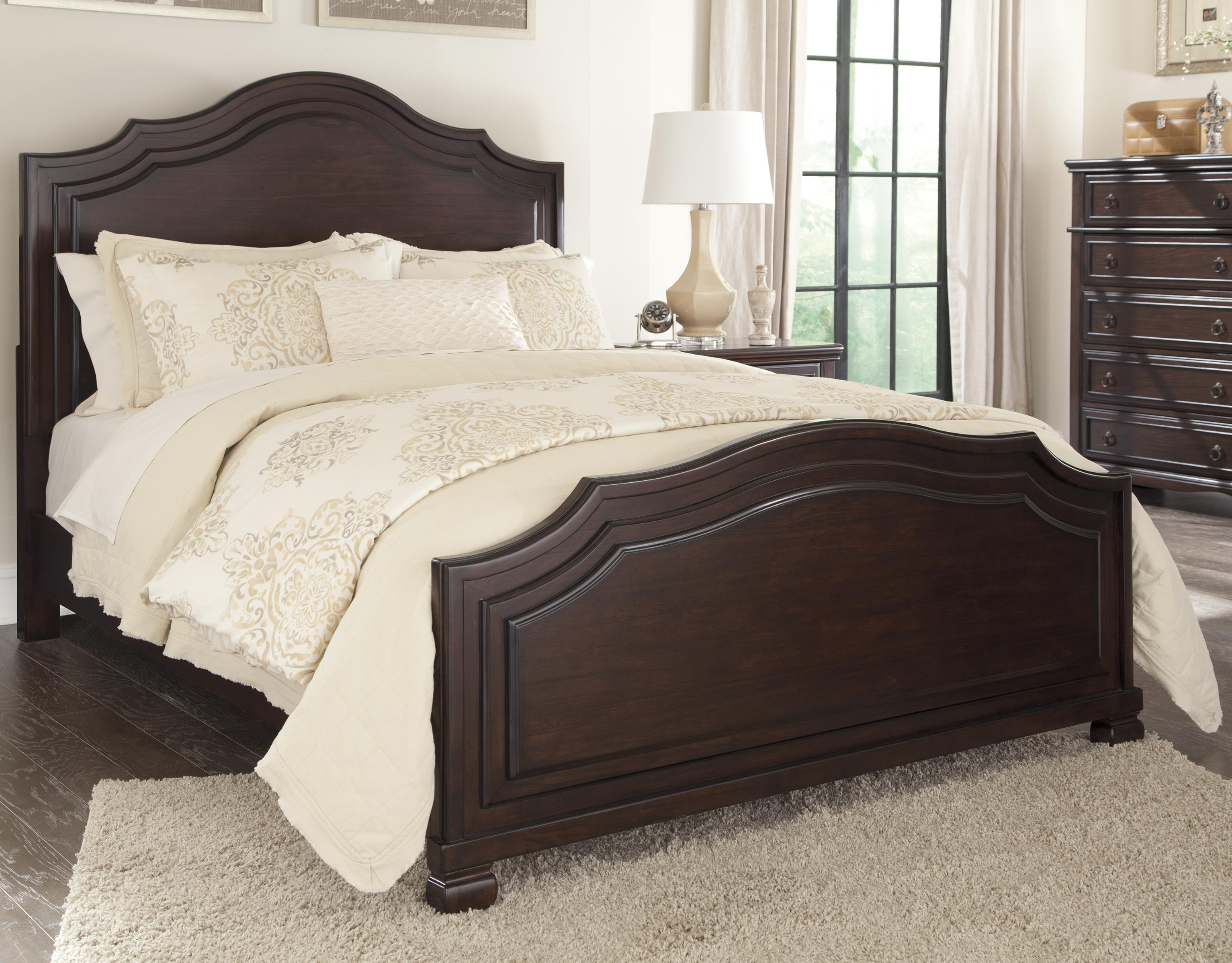Signature Design by Ashley Brulind California King Panel Bed - Item Number: B554-58+56+94