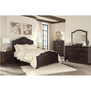 Signature Design by Ashley Furniture Brulind Queen Bedroom Group