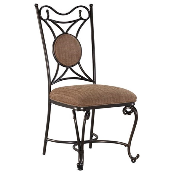 Signature Design by Ashley Brulind Dining Upholstered Side Chair - Item Number: D584-01