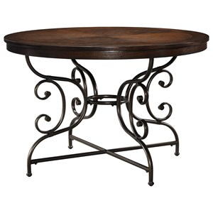 Signature Design by Ashley Brulind Round Dining Room Table