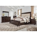 Signature Design by Ashley Brynhurst Queen Bedroom Group - Item Number: B788 Q Bedroom Group 2