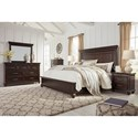 Signature Design by Ashley Brynhurst Queen Bedroom Group - Item Number: B788 Q Bedroom Group 3