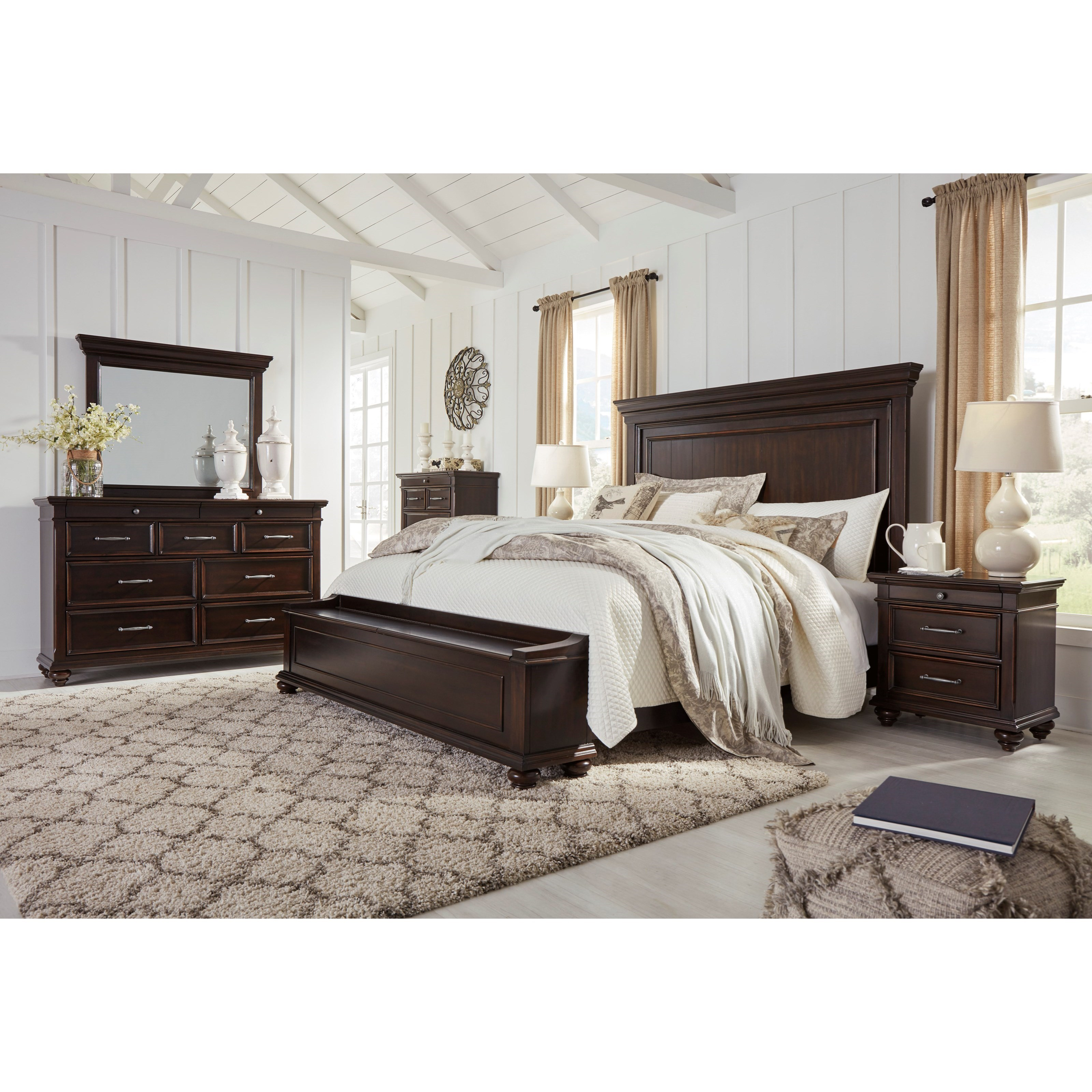 Brynhurst King Bedroom Group by Signature Design by Ashley at Standard Furniture