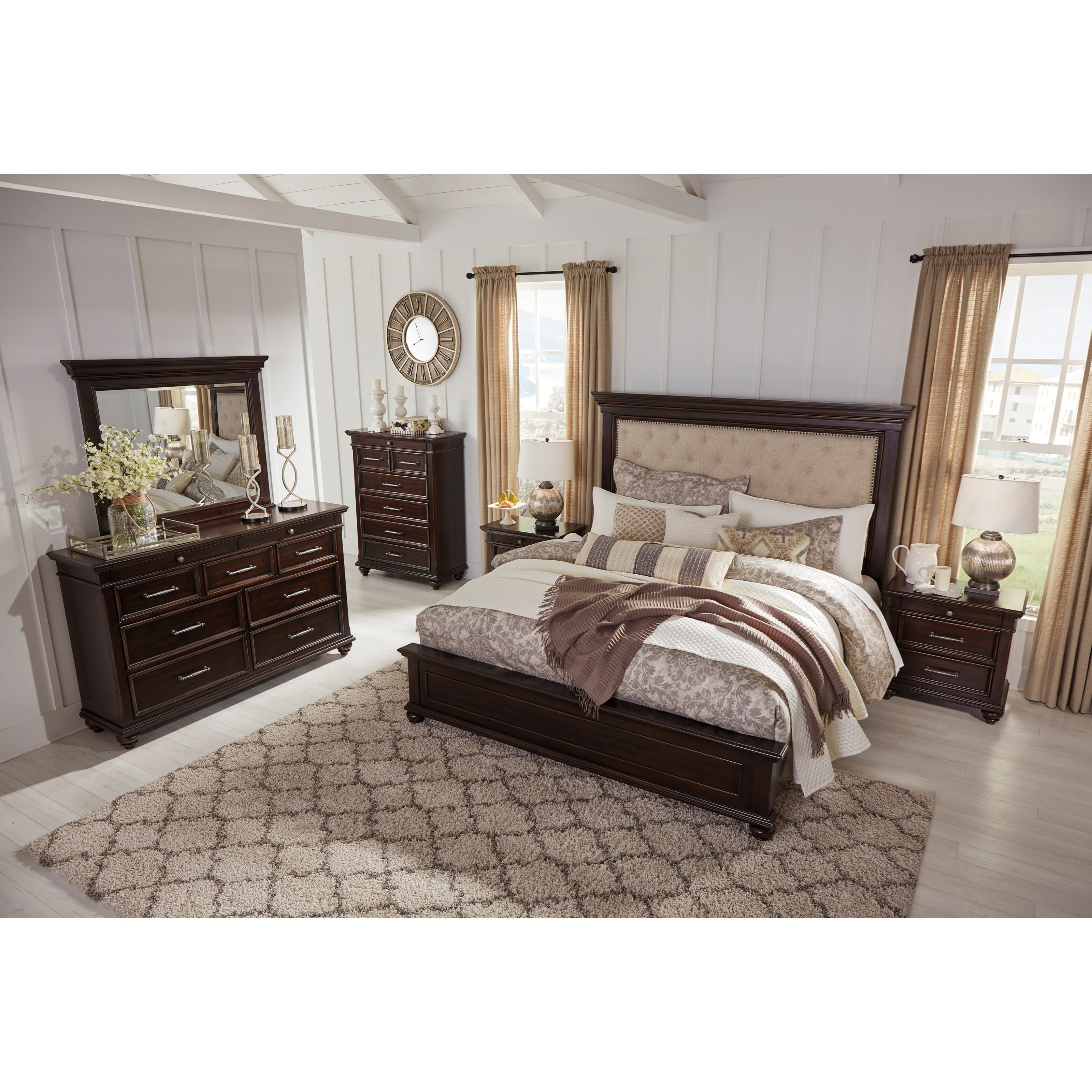 Signature Design By Ashley Brynhurst Queen Bedroom Group