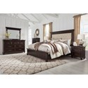 Ashley (Signature Design) Brynhurst King Bedroom Group - Item Number: B788 K Bedroom Group 1