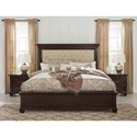 Signature Design by Ashley Brynhurst Traditional King Upholstered Bed