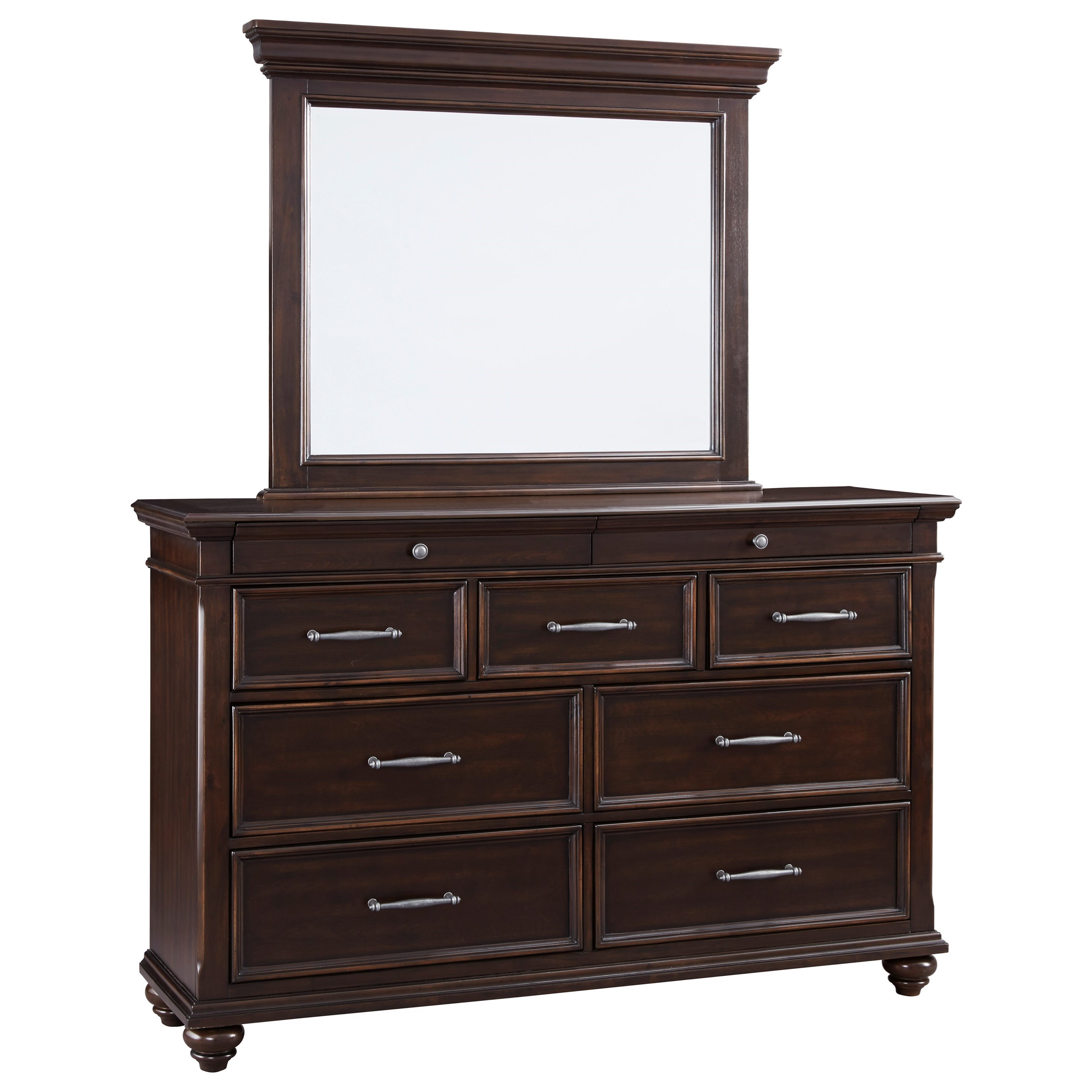 Brynhurst Dresser and Mirror Set by Ashley (Signature Design) at Johnny Janosik