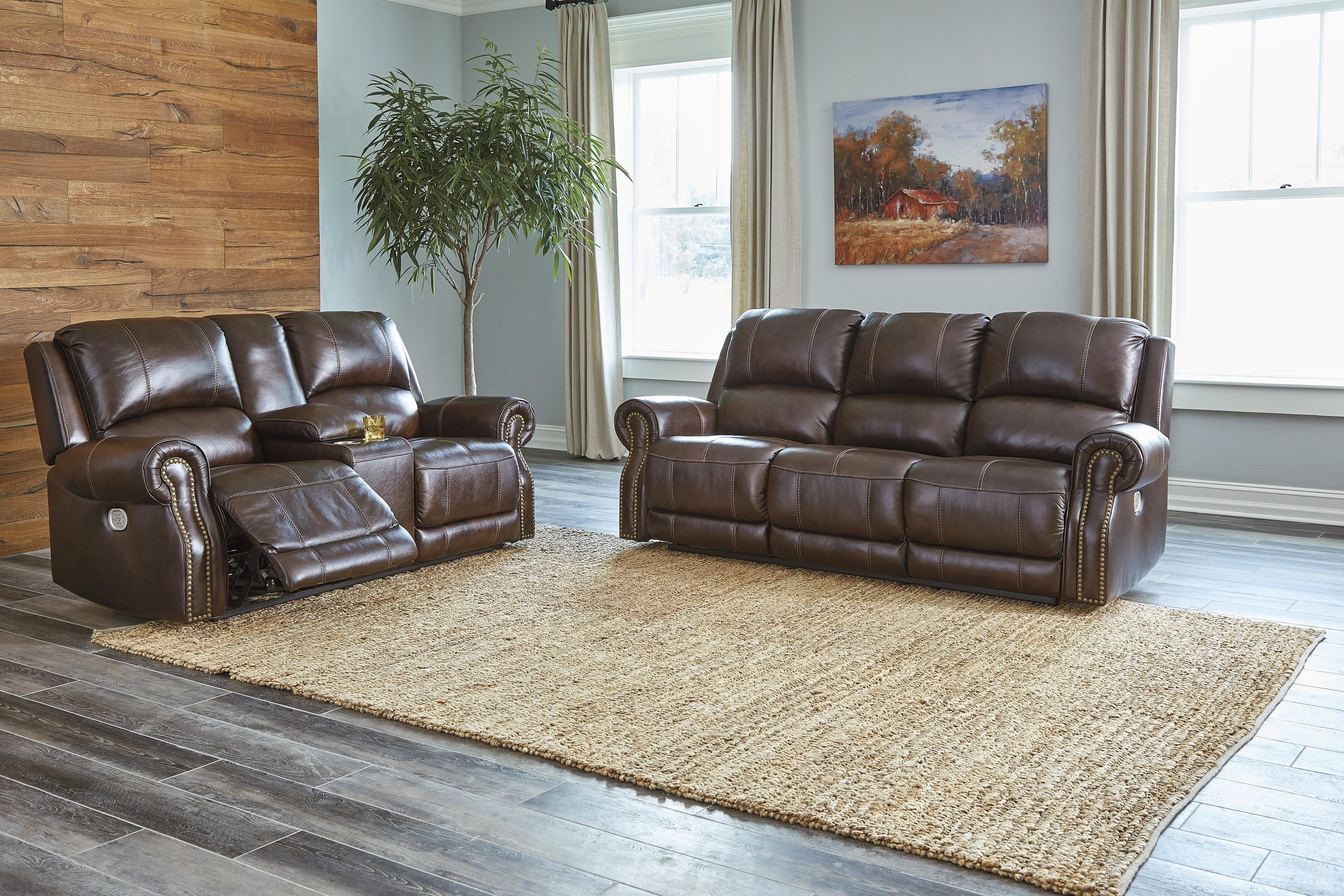 Power Recliner Sofa and Power Recliner Loves