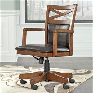 Signature Design by Ashley Furniture Burkesville Home Office Desk Chair