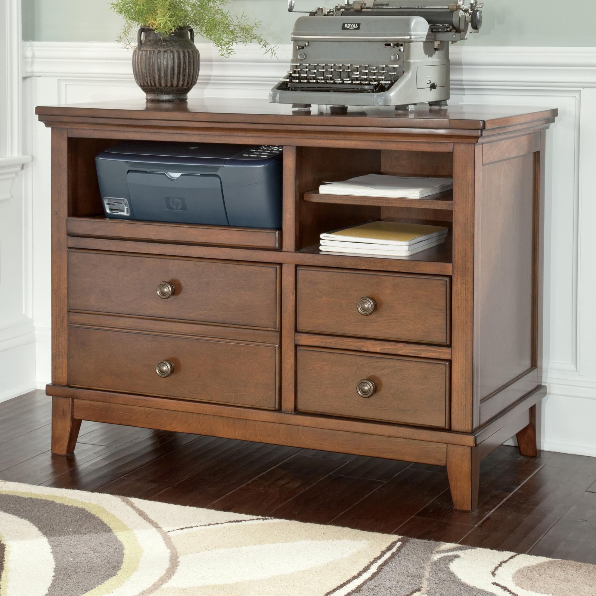 Signature Design by Ashley Burkesville Home Office Cabinet - Item Number: H565-40