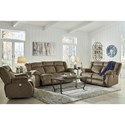 Signature Design by Ashley Burkner Power Reclining Living Room Group - Item Number: 53803 Living Room Group 2