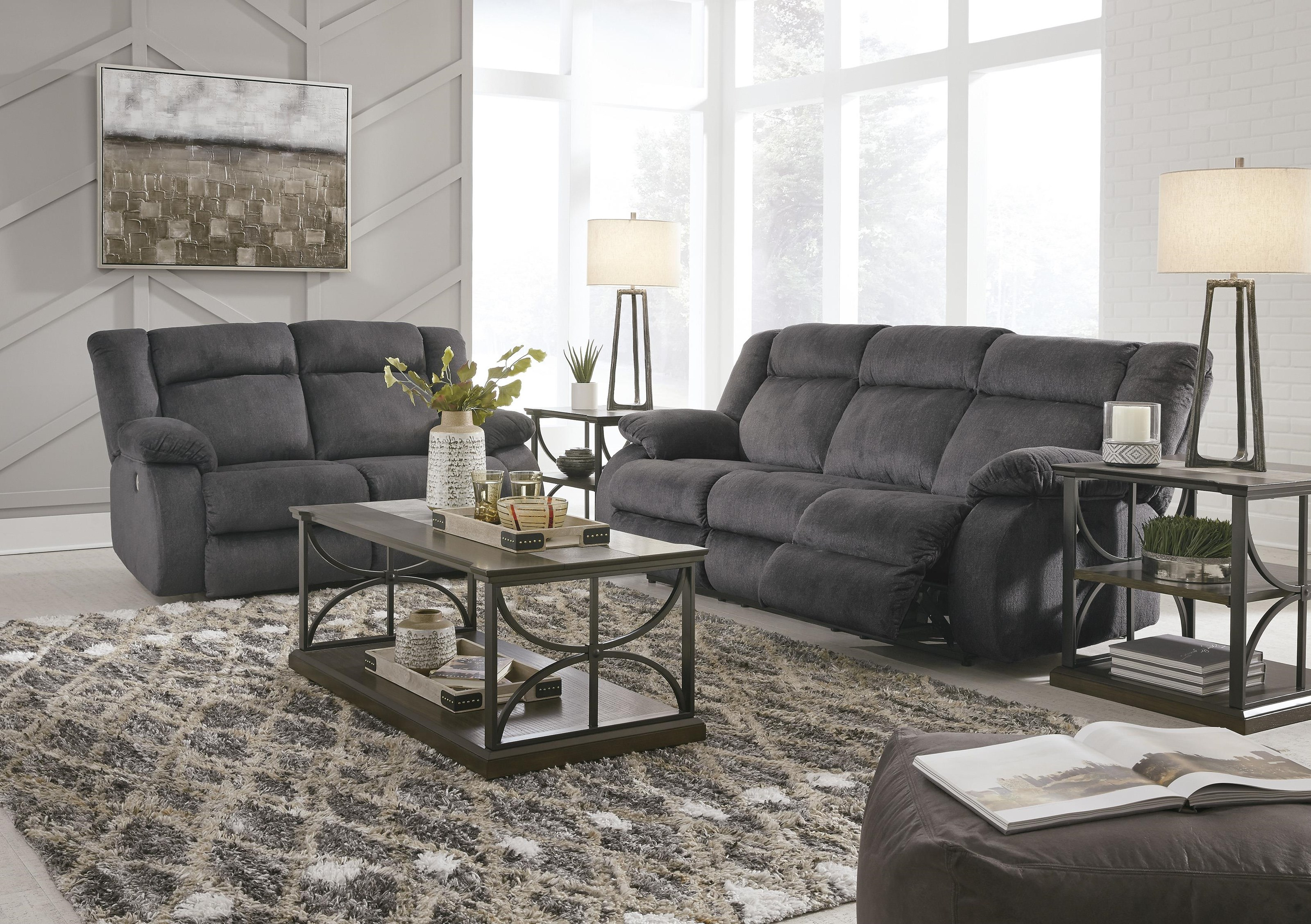 Power Reclining Sofa & Loveseat