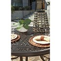 Signature Design by Ashley Burnella Outdoor Round Dining Table
