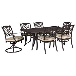 Signature Design by Ashley Burnella Outdoor Dining Set