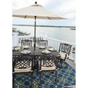 Signature Design by Ashley Burnella Outdoor Rectangular Dining Table