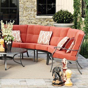 Signature Design by Ashley Burnella 3-Piece Outdoor Sectional