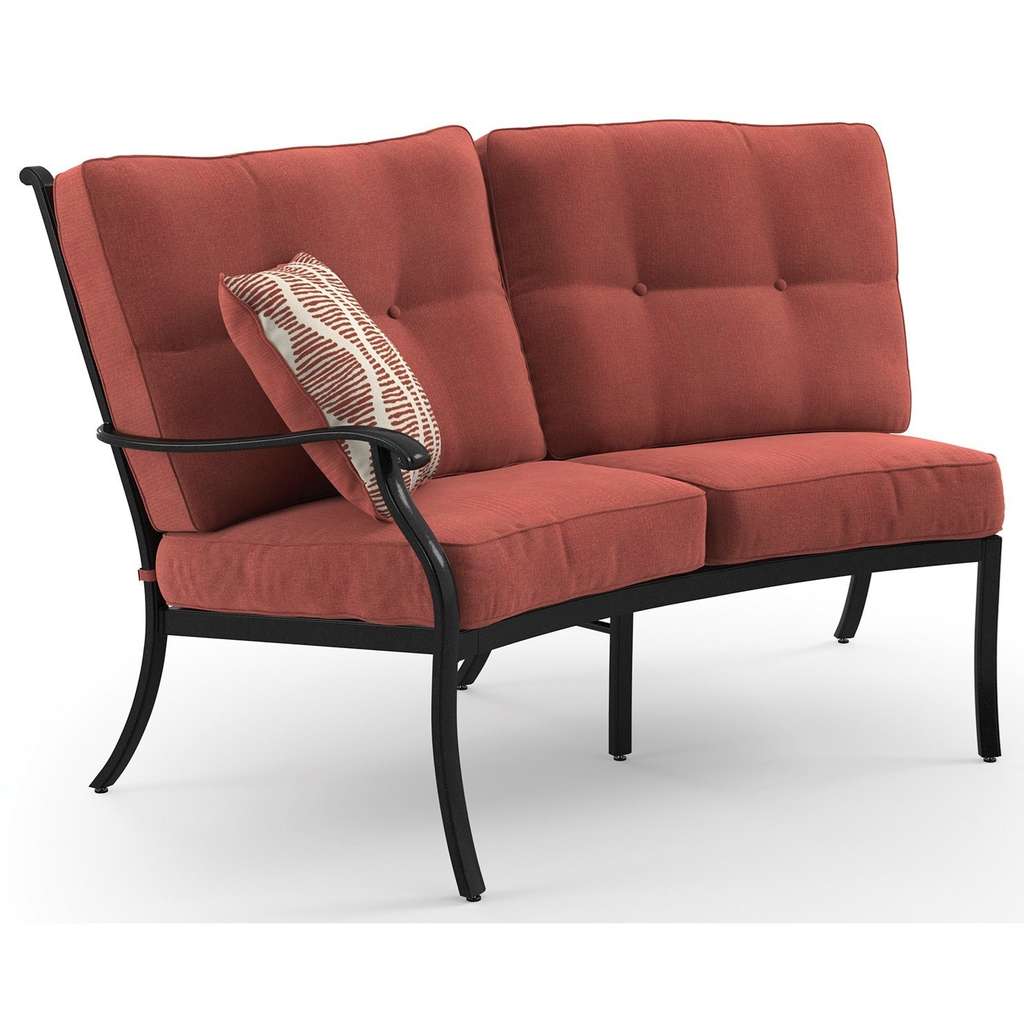 Signature Design by Ashley Burnella LAF Loveseat with Cushion - Item Number: P456-855