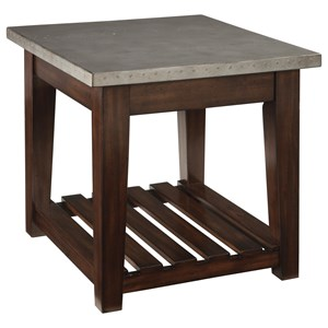 Signature Design by Ashley Bynderman Rectangular End Table