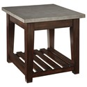 Signature Design by Ashley Bynderman Rectangular End Table - Item Number: T882-3