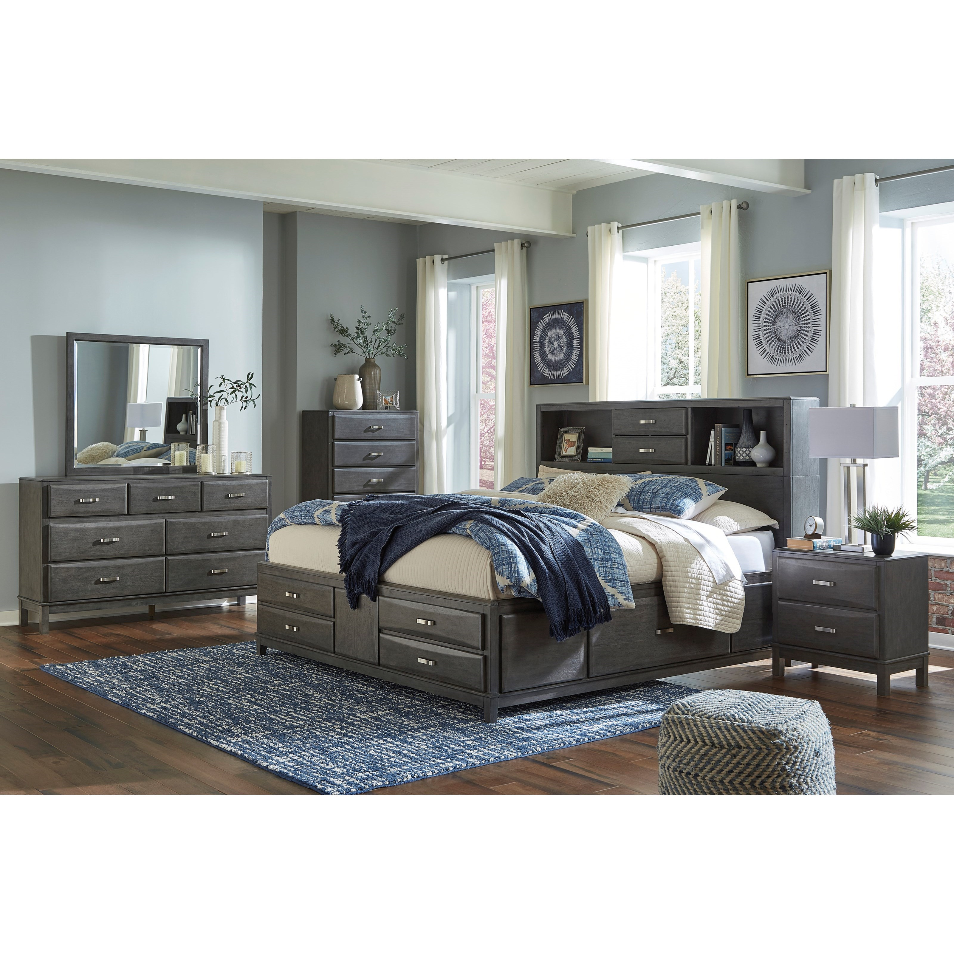 Ashley Furniture Kira 7 Drawer Dresser: Ashley Signature Design Caitbrook 7-Drawer Dresser And