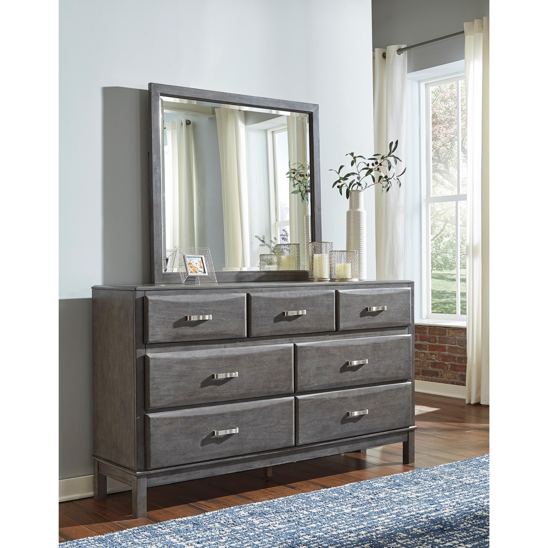 Signature Design By Ashley Caitbrook B476 31 Casual 7 Drawer Dresser Lapeer Furniture