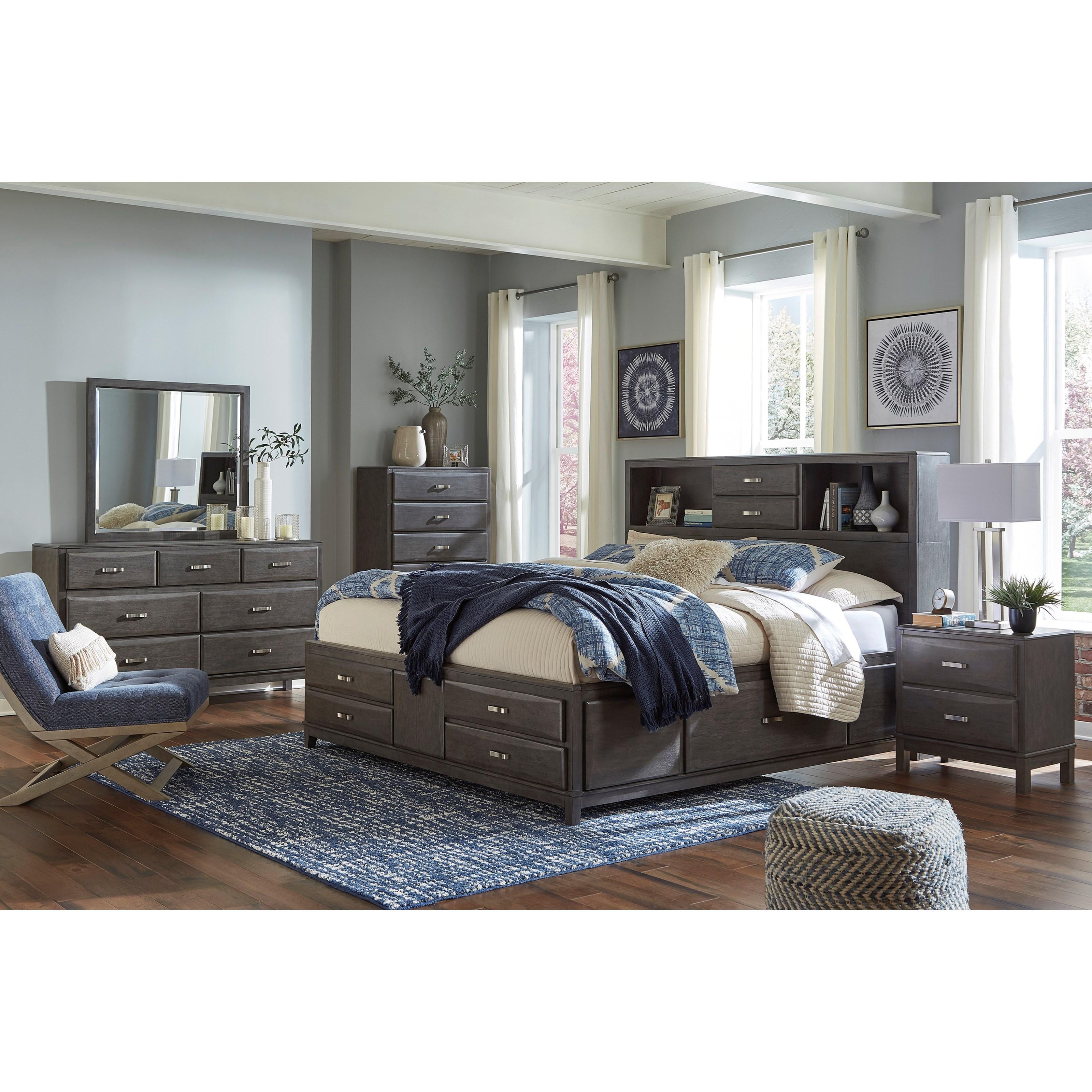 Ashleys Furniture Anchorage: Signature Design Caitbrook Casual 7-Drawer Dresser