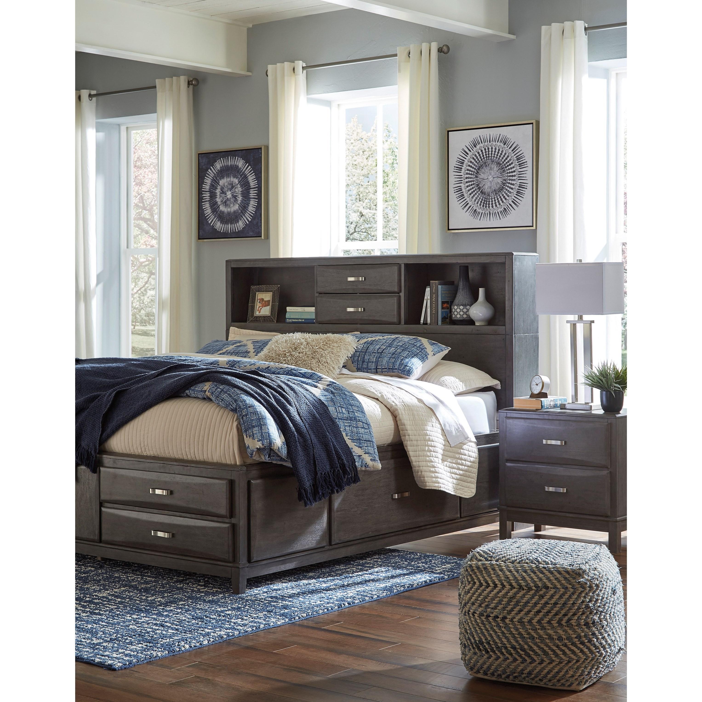 Ashleys Furniture Anchorage: Signature Design Caitbrook 2-Drawer Nightstand