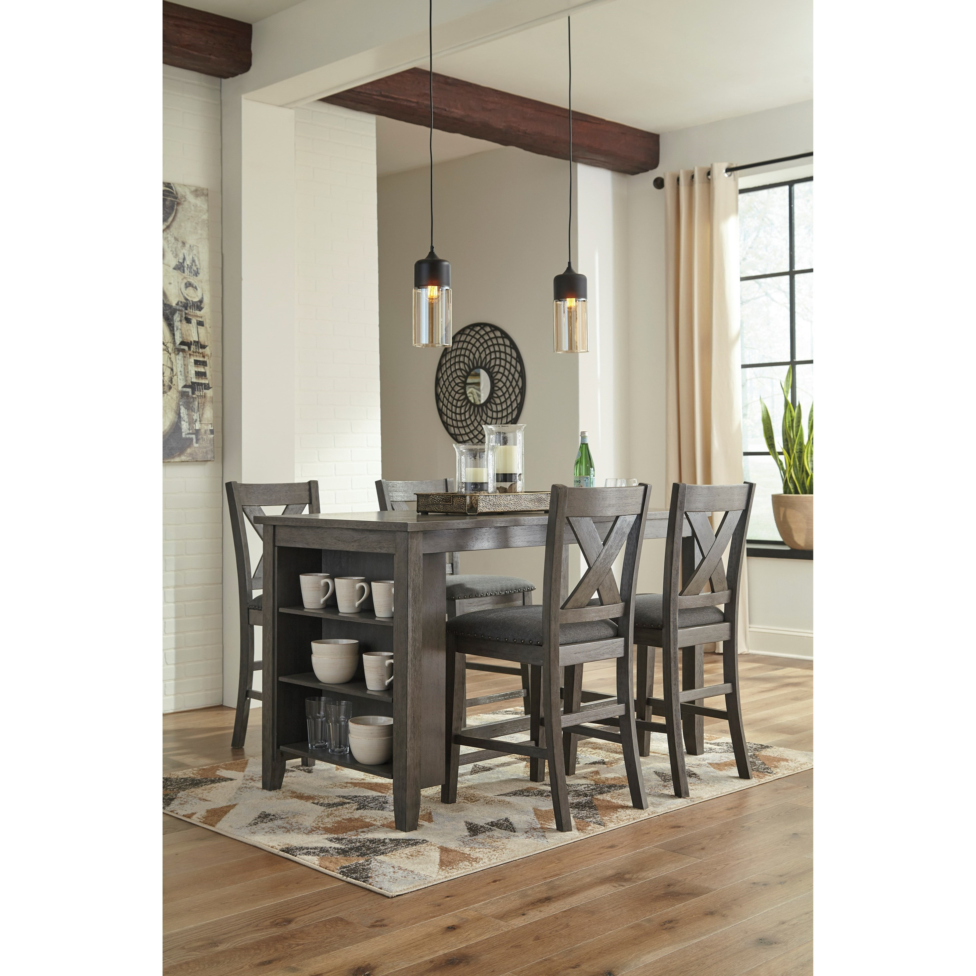 Signature Home Furnishings: Signature Design By Ashley Caitbrook Relaxed Vintage Solid