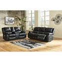Signature Design by Ashley Calderwell Power Reclining Living Room Group - Item Number: 77101 Living Room Group 2